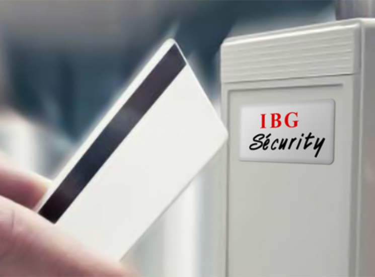 Lecteur badge Ibg security